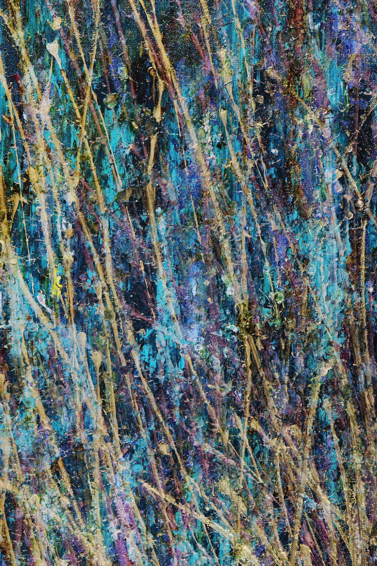 DETAIL - Aqua Garden (Blinding lights) (2020) - Statement Work!