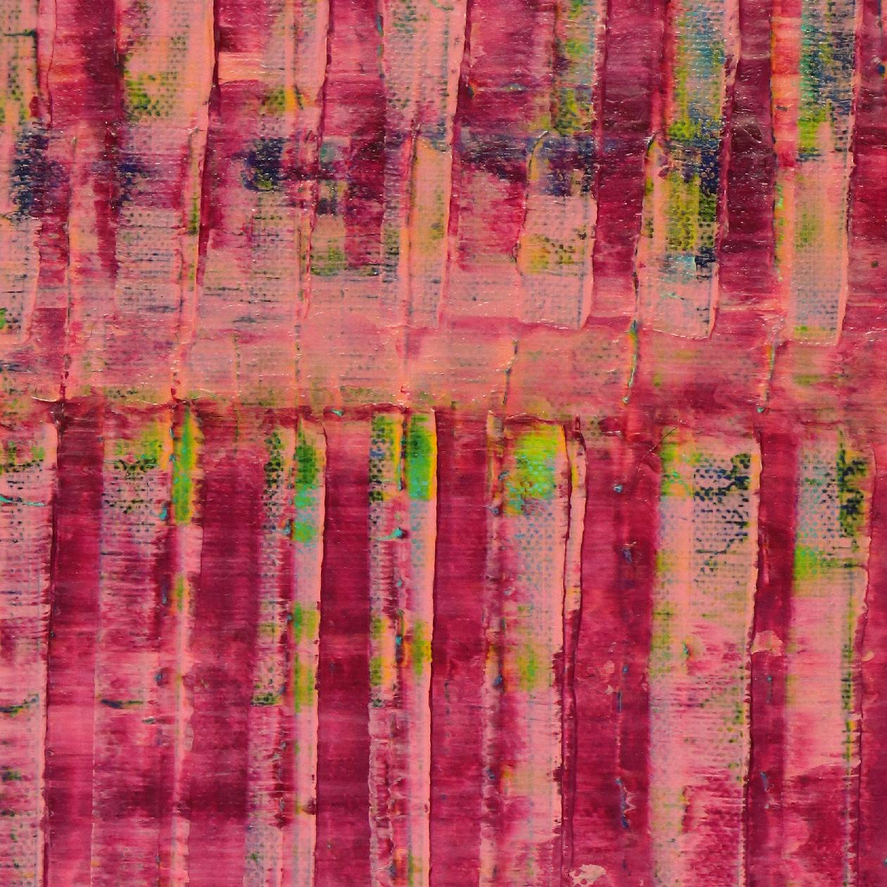 Pink spectra and lights 2 (2020) by Nestor Toro - SOLD