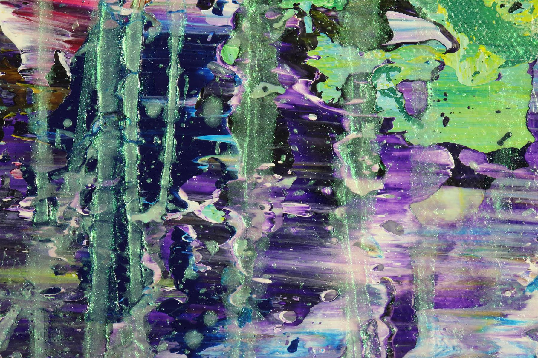 Detail - Green refractions (Crystal core) 2 (2020)