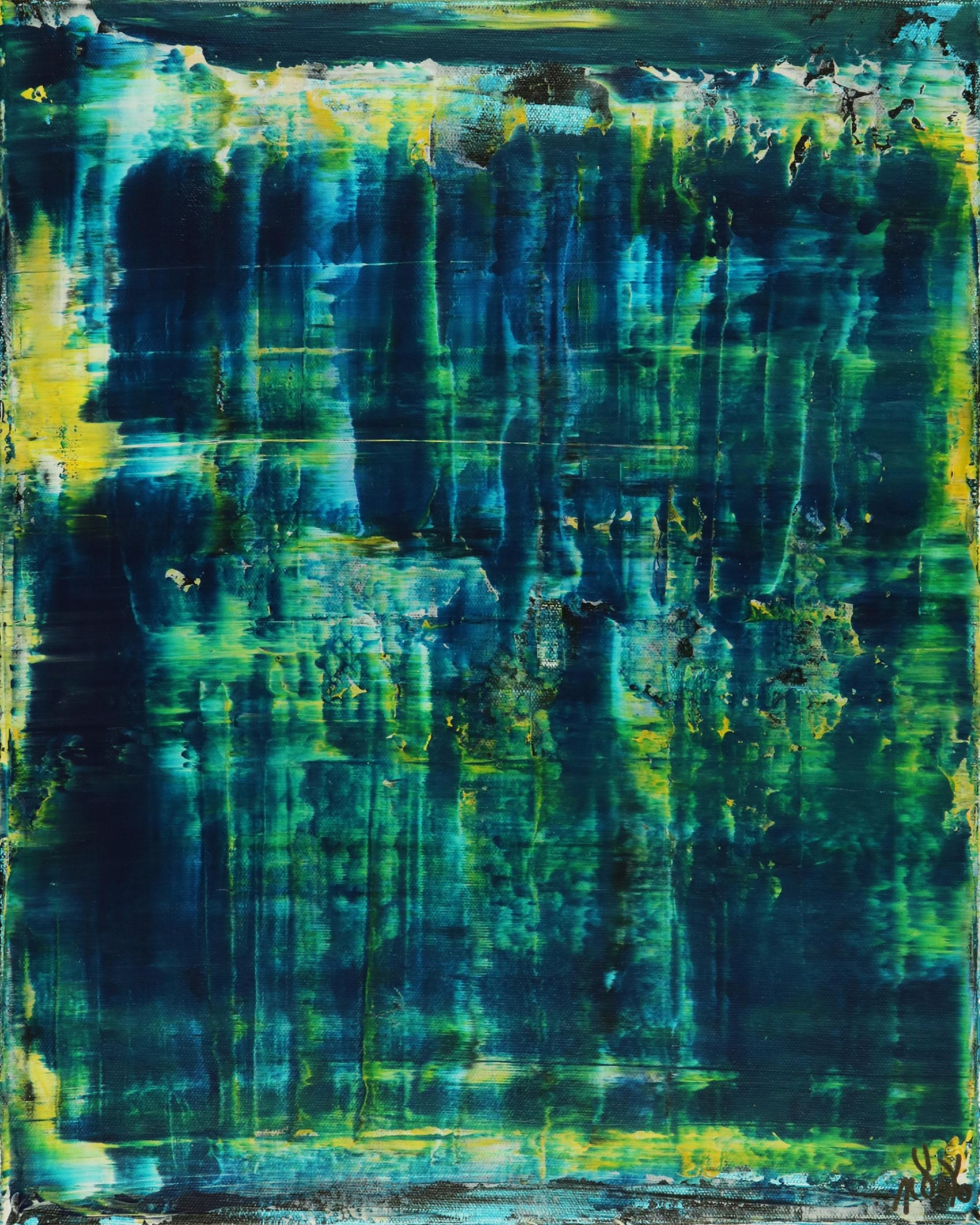 Full canvas - Emerald Forest Spectra 3 by Nestor Toro