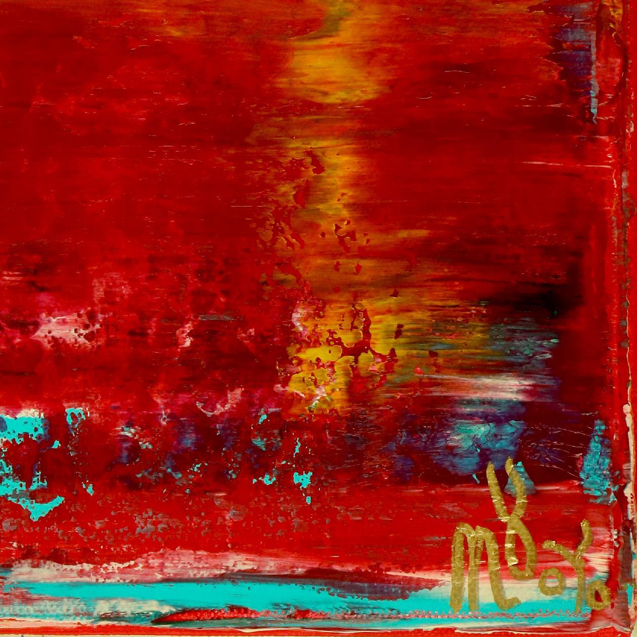 Rojo Infinito (Fiery Spectra) #2 (2020) by Nestor Toro
