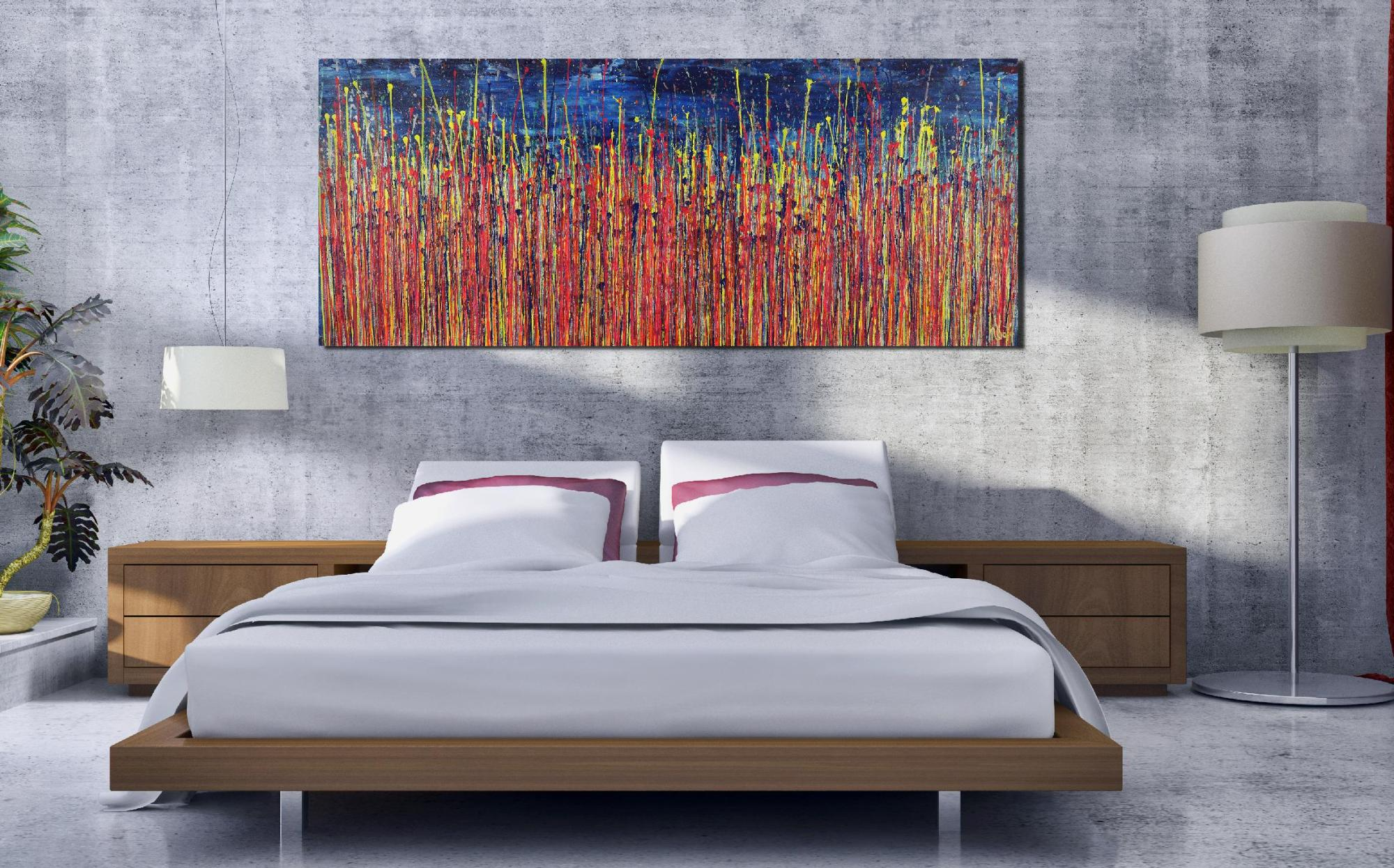Room View - Prophecy Garden 2 (2020) by Nestor Toro