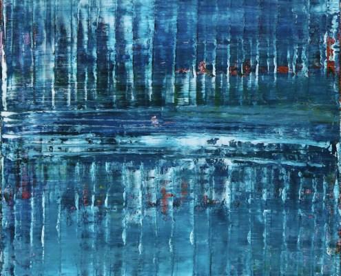 SOLD - Azul Terrain (2020) by Nestor Toro