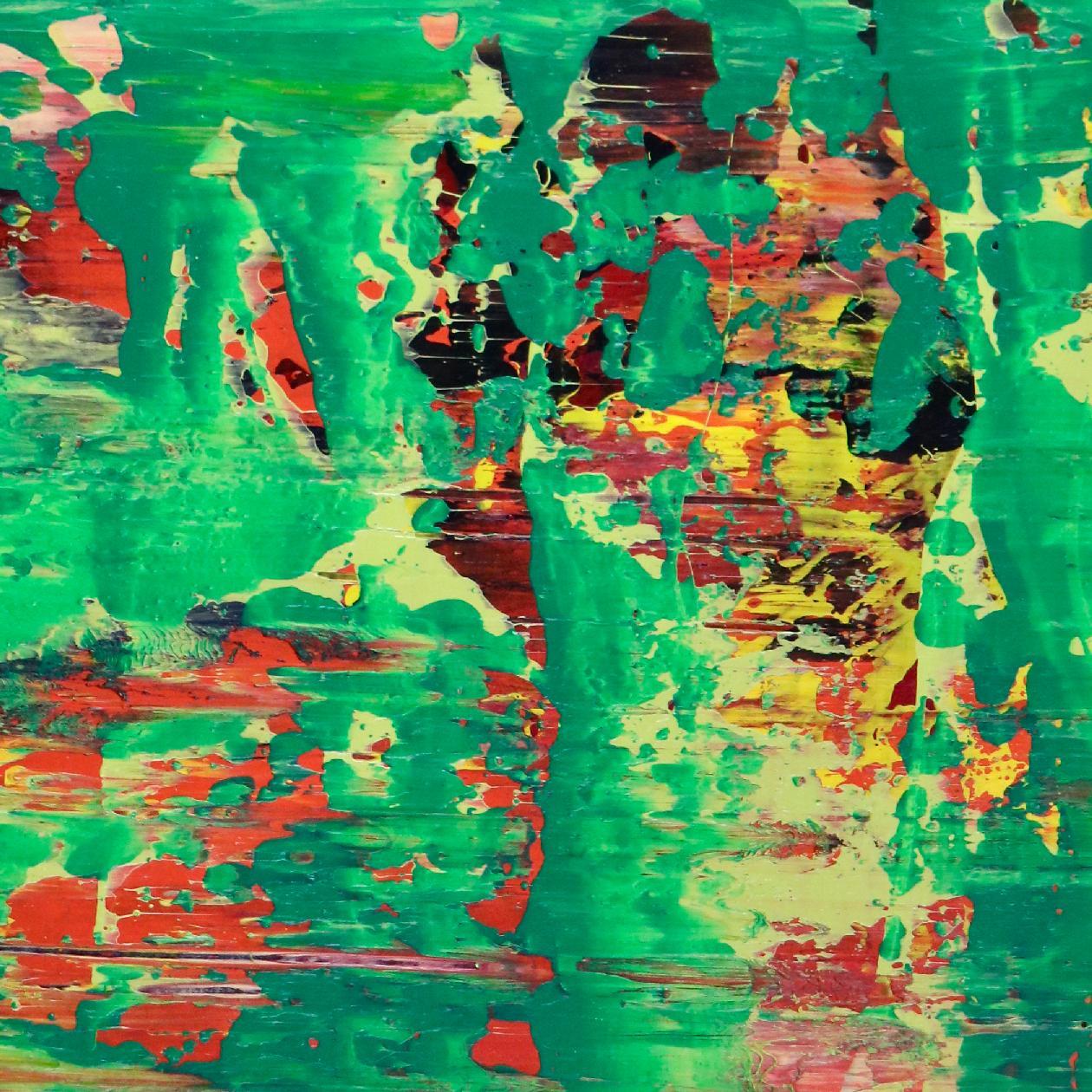 SOLD - Detail-Sunny Morning Panorama 8 (2020) by Nestor Toro