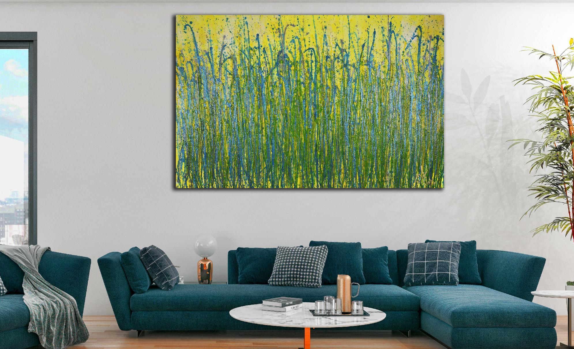 Room View - A closer look (Luminance garden) 4 (2020) by Nestor Toro