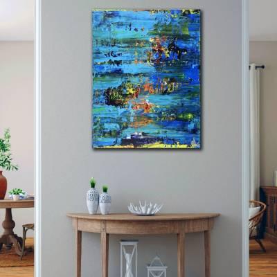 Room View - St. Barts (Caribbean Ocean Coast) (2020) by Nestor Toro