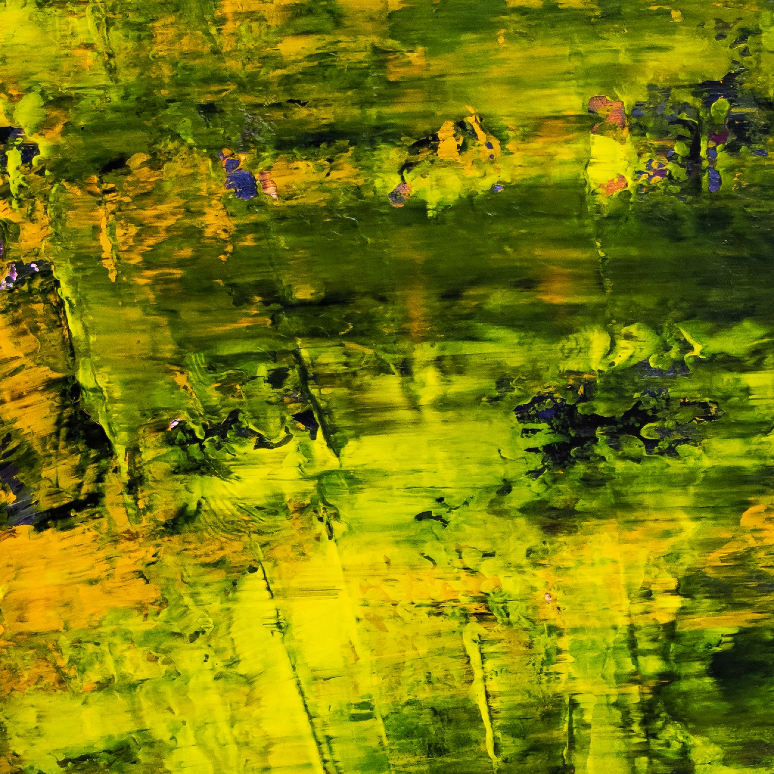 Detail - Sunny Forest Canopy (2020) by Nestor Toro
