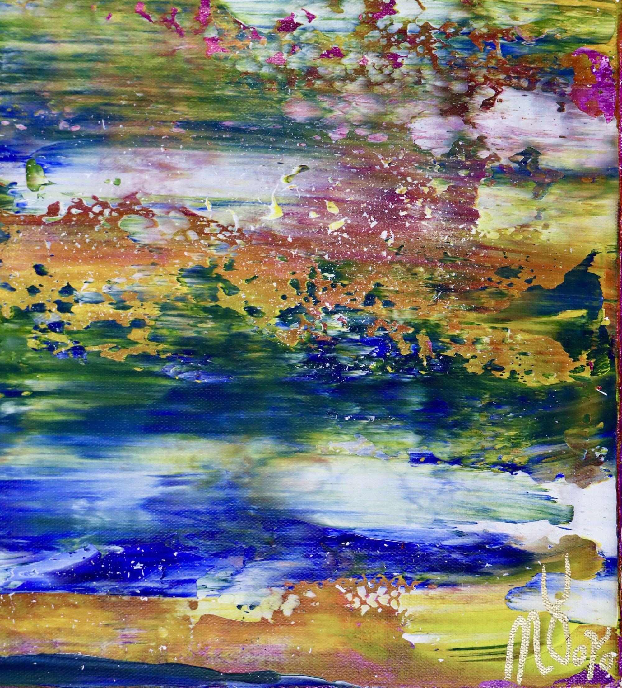 Signature - Rio Azul Infinito (Infinite Blue River) (2020)