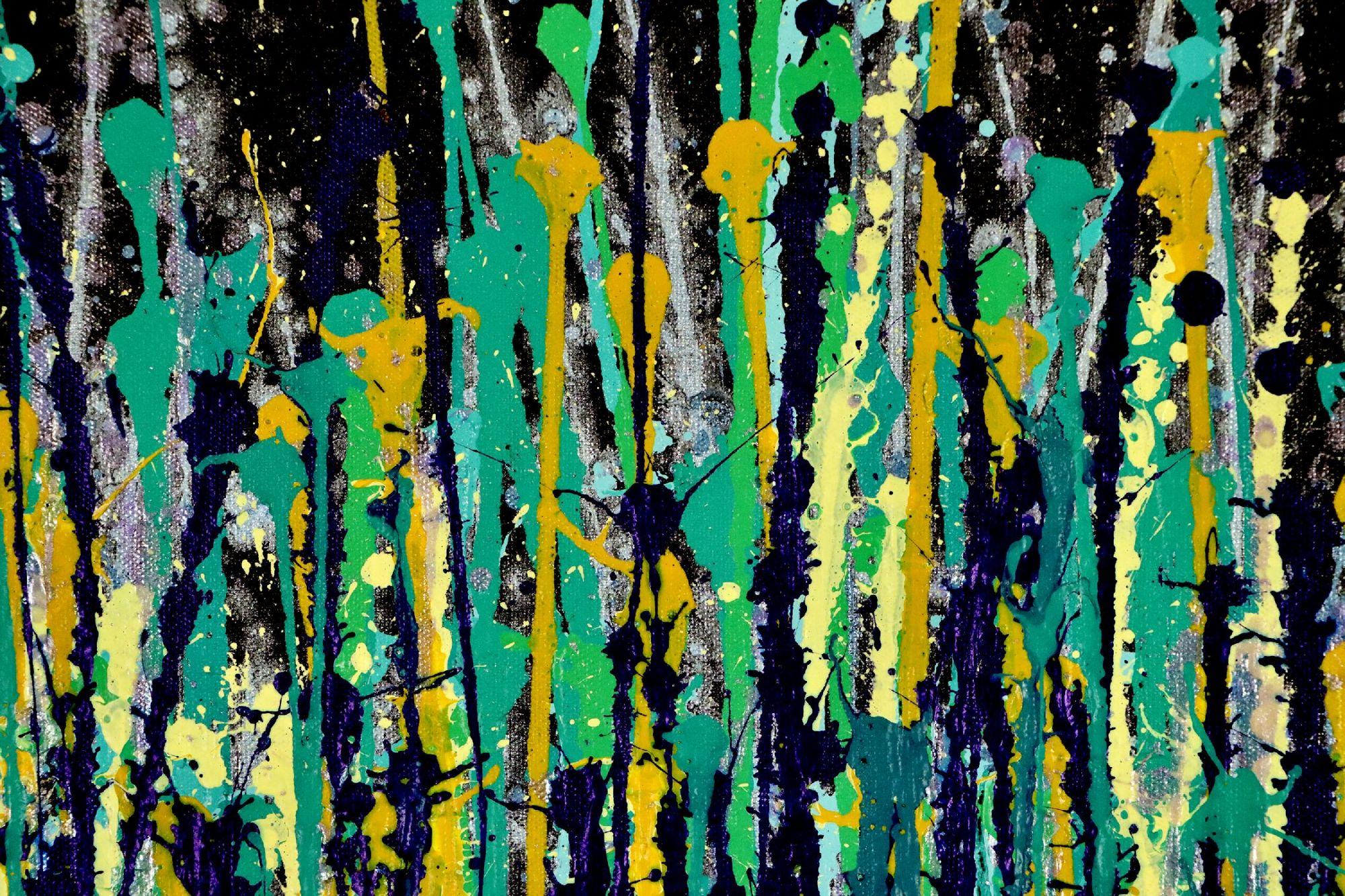 Detail- Shimmer and breeze garden 2 (2020) by Nestor Toro