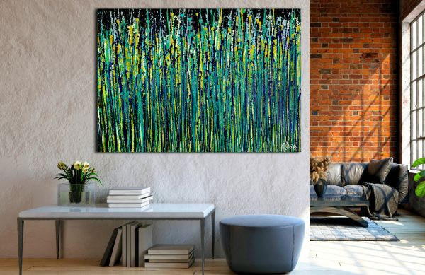 Room View - Shimmer and breeze garden 2 (2020) by Nestor Toro