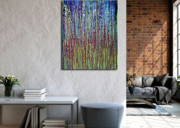 SOLD - Shimmer and breeze garden (2020) by Nestor Toro