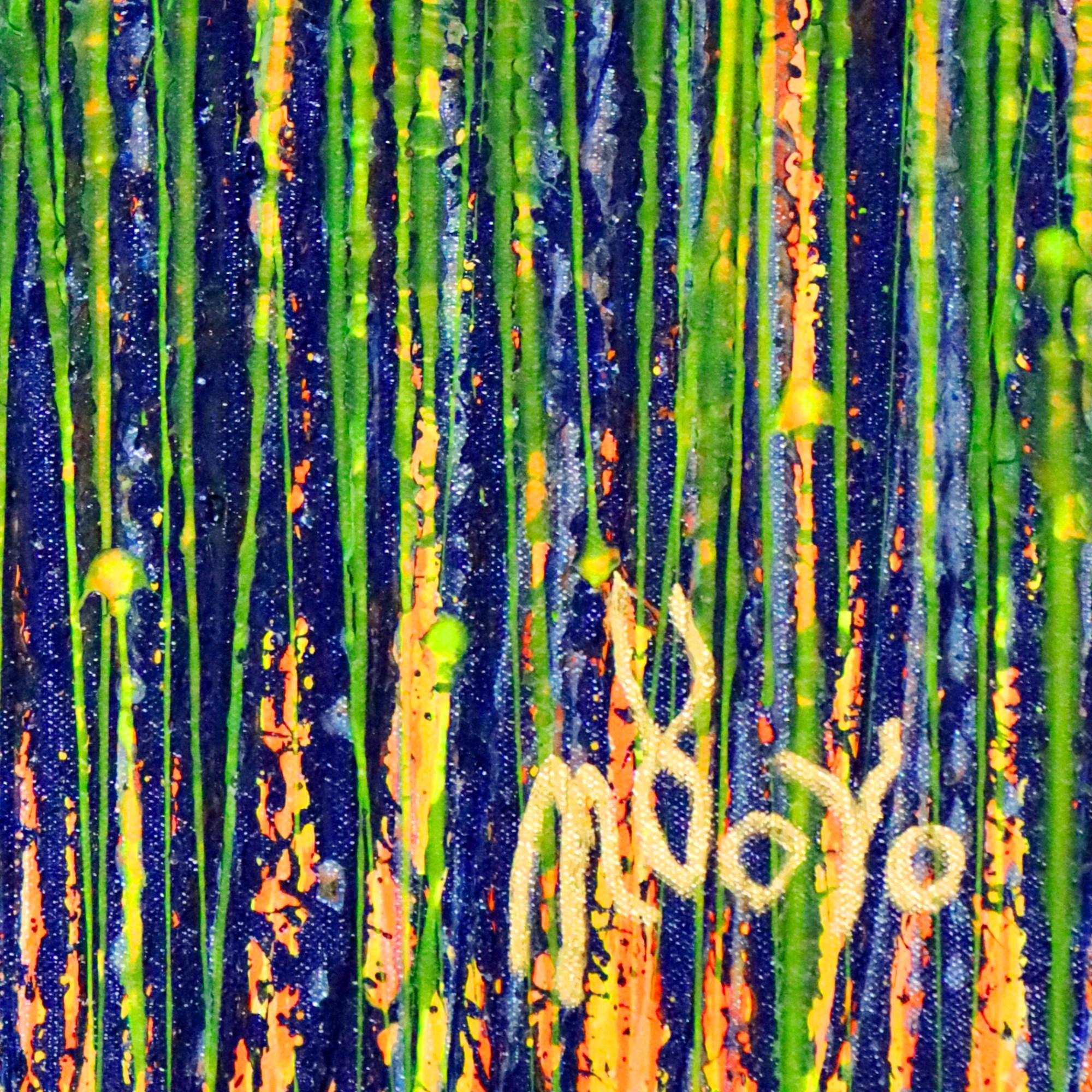 SOLD - Garden in motion 2 (2020) by Nestor Toro