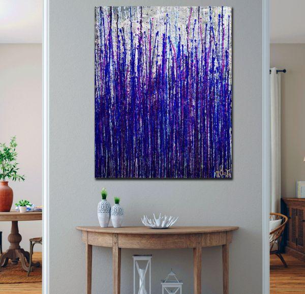Room View - Daring Spectra (Purple Drizzles) (2020) by Nestor Toro