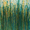Canvas 2 / Crystal Down (Forest Green) (2020) / Triptych