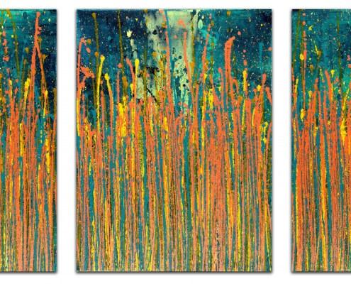 SOLD / A Painters Garden (Autumn) (2020) by Nestor Toro