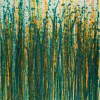 Canvas 3 / Crystal Down (Forest Green) (2020) / Triptych / West Hollywood