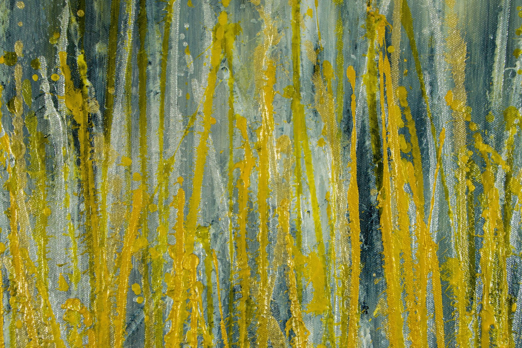 Detail - Garden In Motion 4 (Autumn) (2020) / SOLD