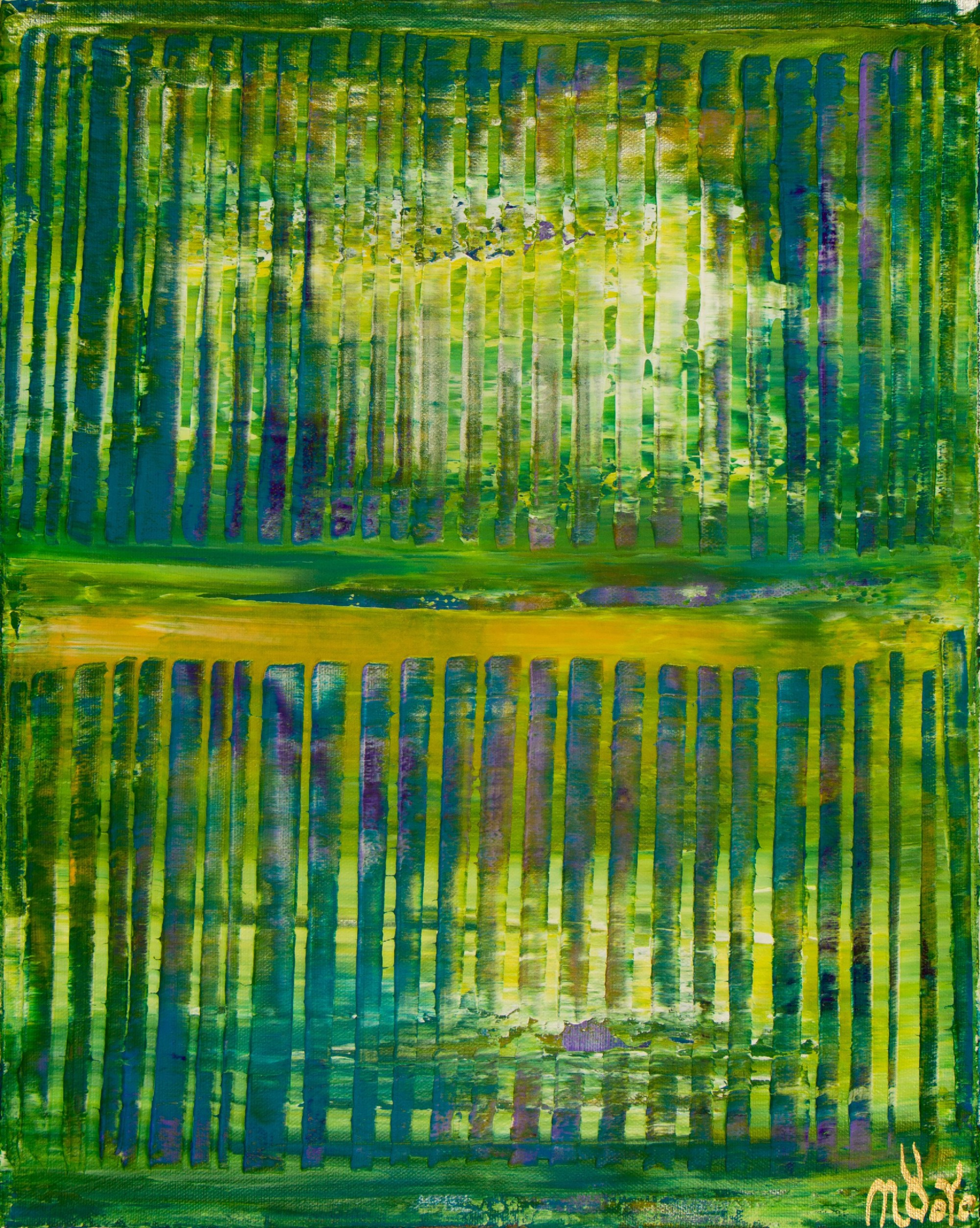 Forest Mirrors and Light (2020) by Nestor Toro