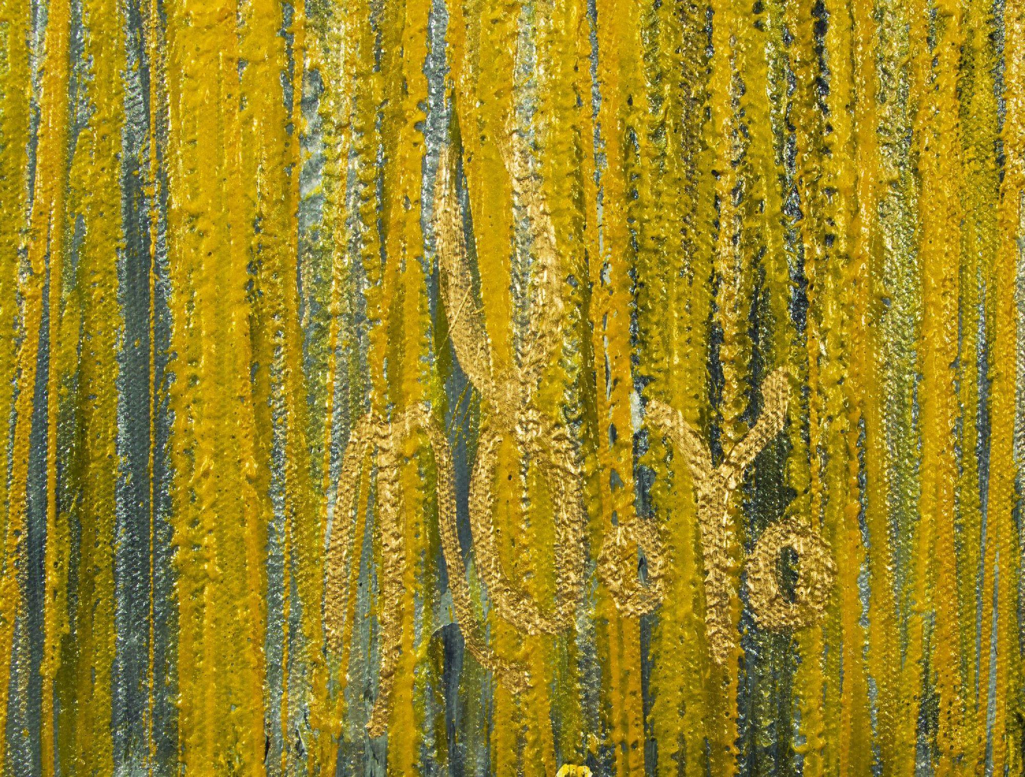SOLD / Signature - Garden In Motion 4 (Autumn) (2020) by Nestor Toro