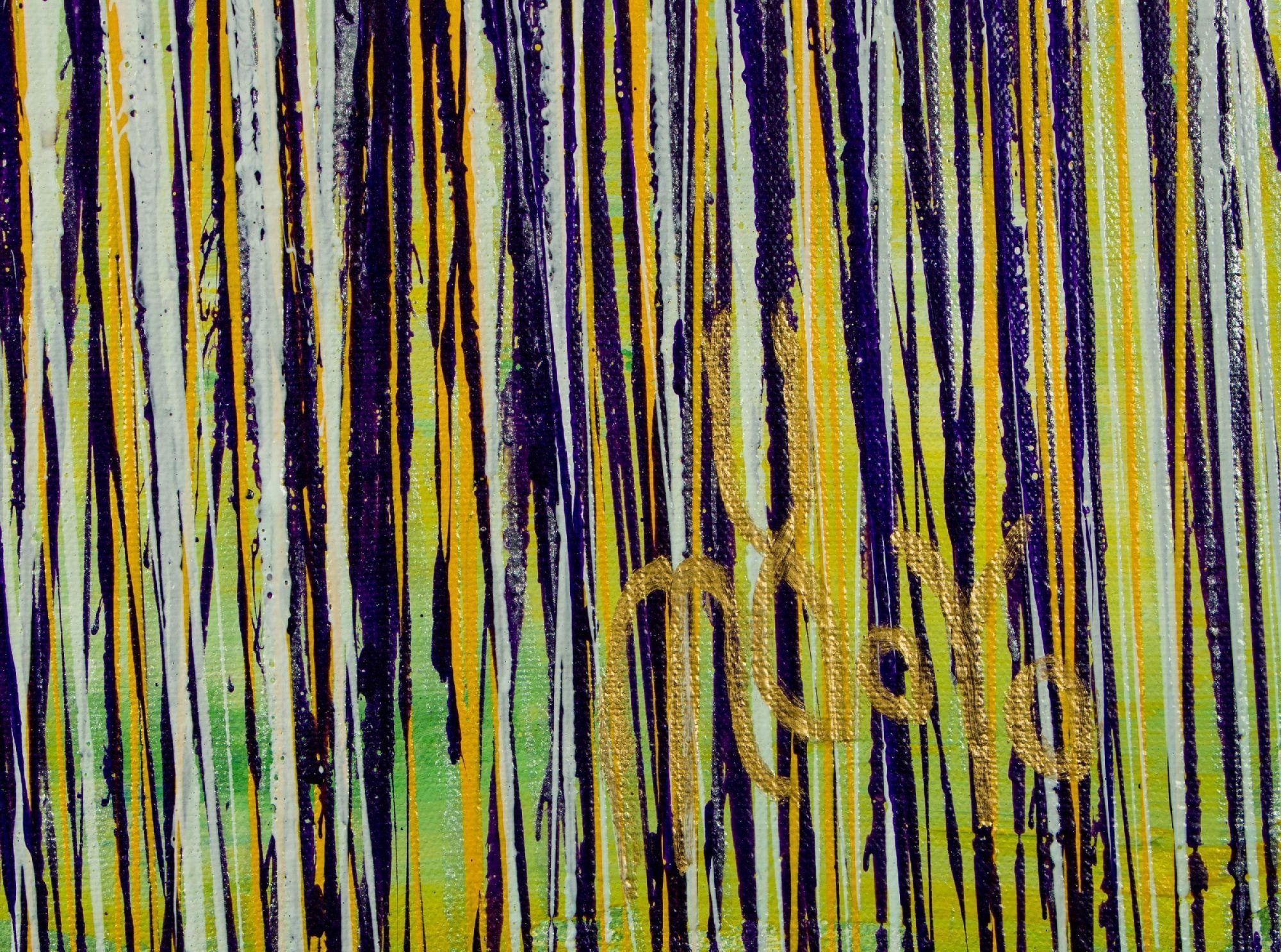 Signature / Glare Garden (Purple and Yellow Reflections) (2020) - Nestor Toro
