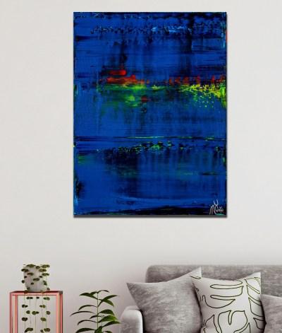Room view example / St. Barts (Caribbean ocean coast) 2 (2020) by Nestor Toro