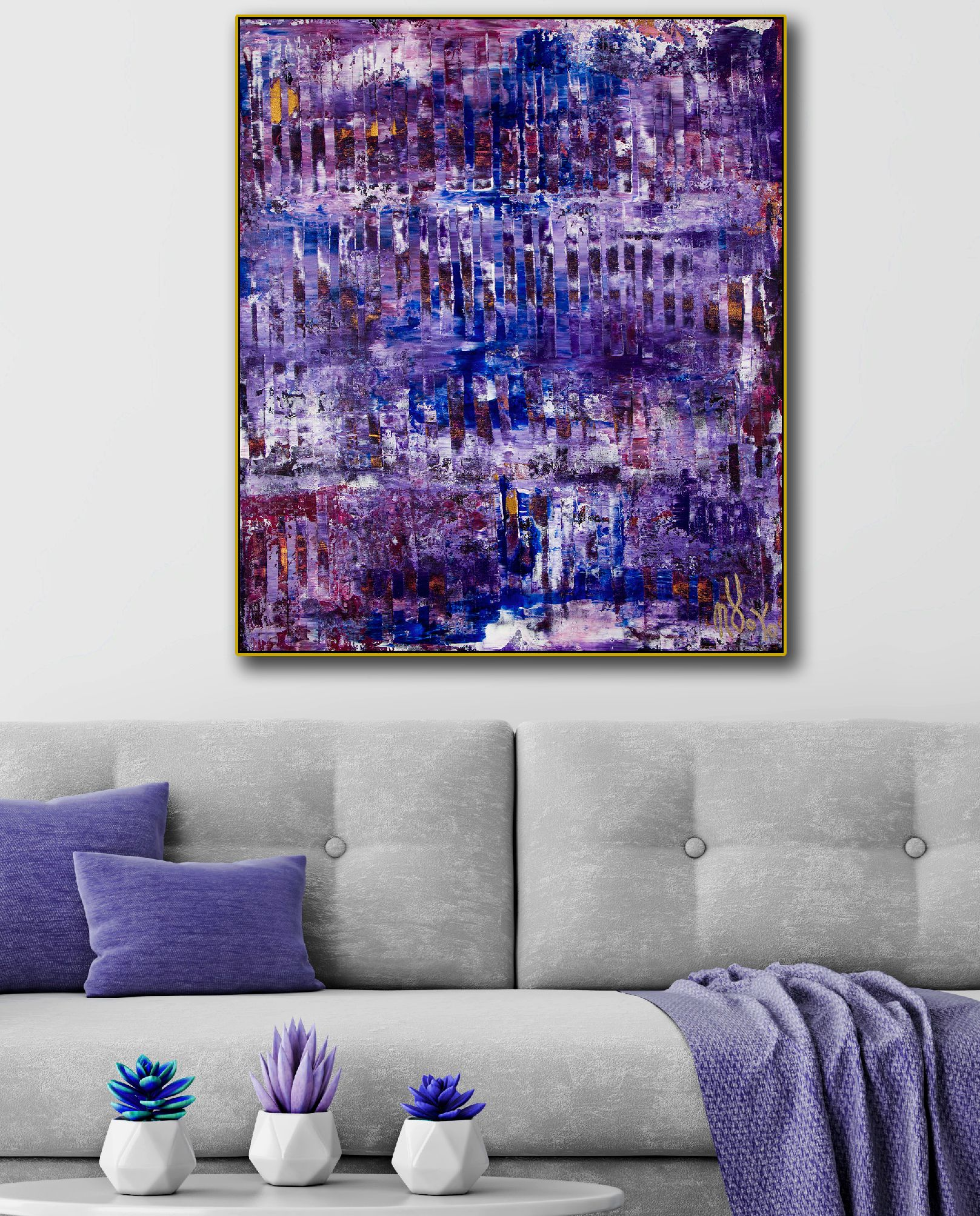 Room View - Chaos and Lights 2 (2020) by Nestor Toro