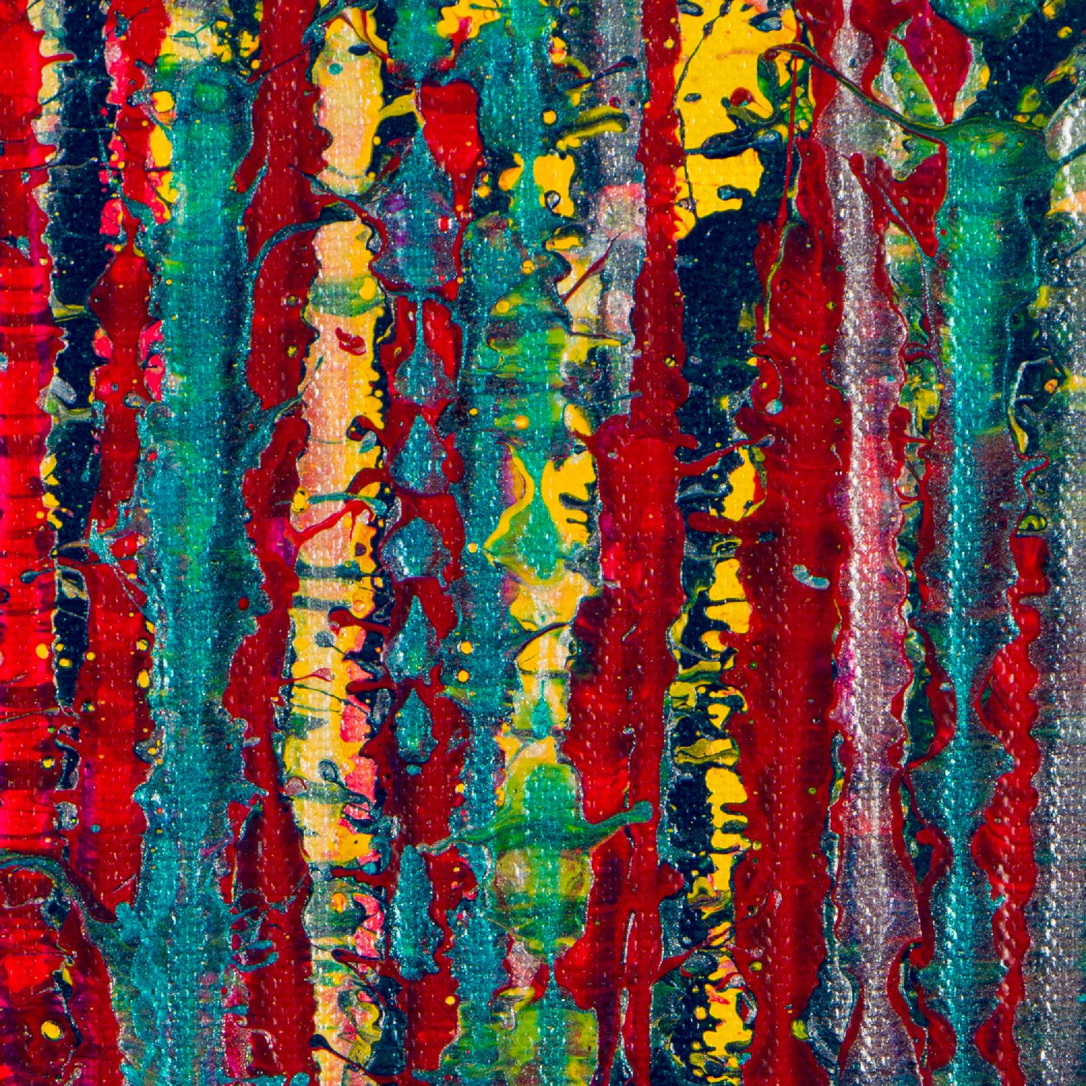 Detail - Garden In Motion 5 (2020) by Nestor Toro