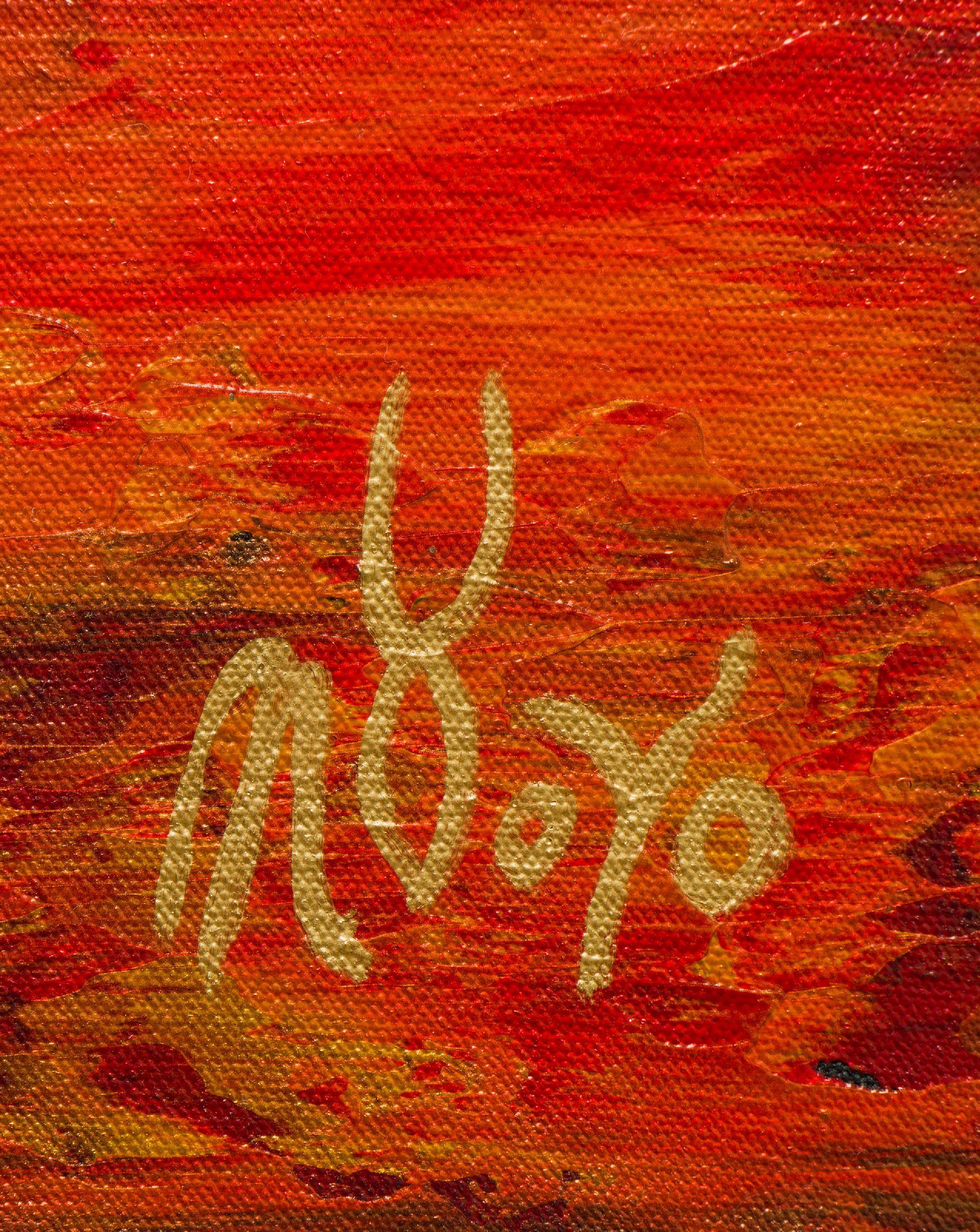 Signature - Fiery dimensions 3 (2020) by Nestor Toro