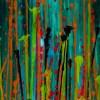 SOLD - DETAIL / Daydream Panorama (Nature's Imagery) #26 (2021) by Nestor Toro