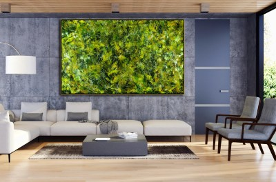 Verdor Spectra (vertical Garden) (2021) by Nestor Toro
