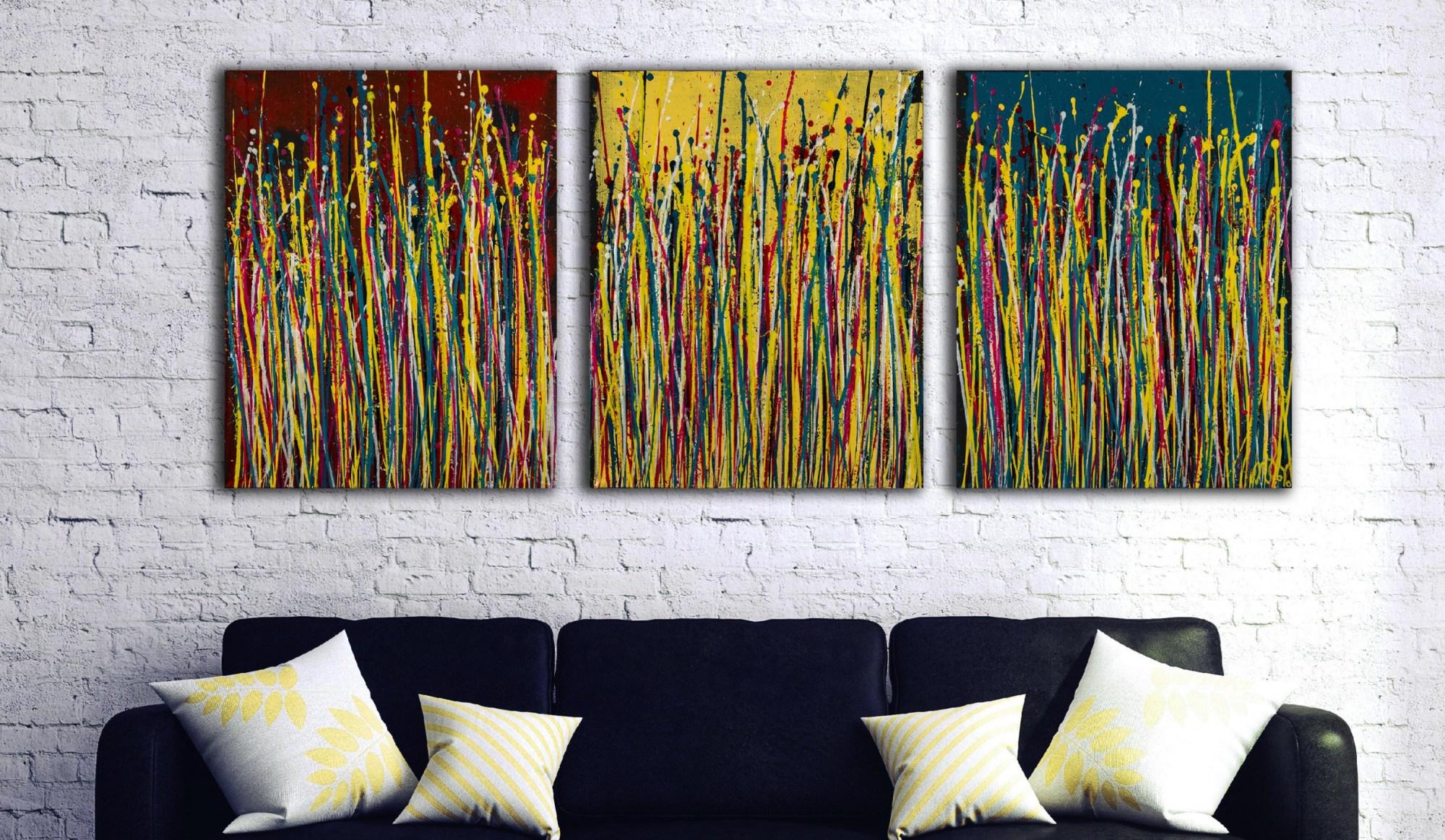Natures Imagery (Scattering Colors) 2 (2021) / Artist Nestor Toro