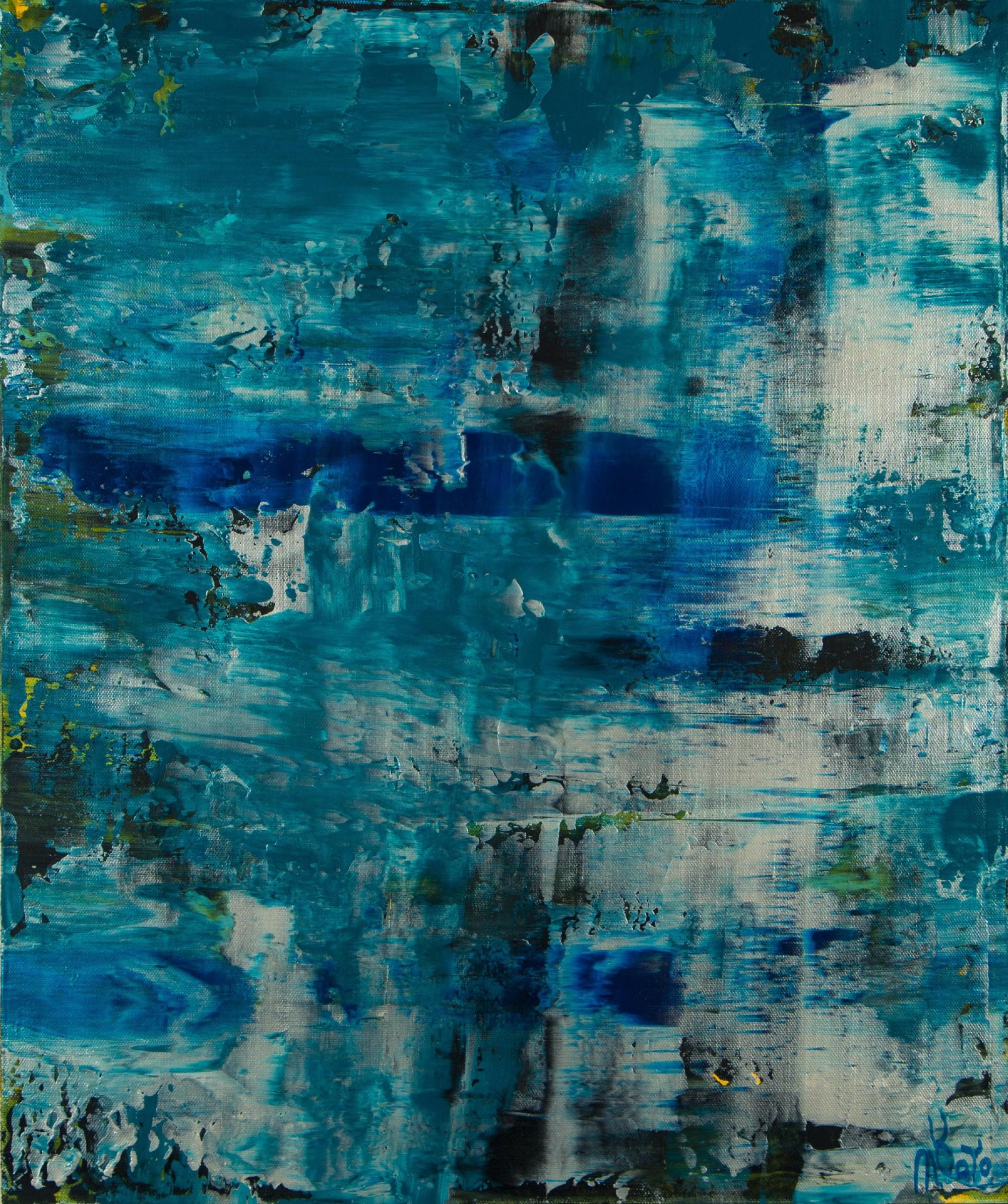 Frozen Waterflow (Ice ponds) (2021) / Artist: Nestor Toro USA