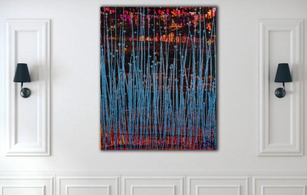 Room Example / Blue Frequencies (Electric Panorama) (2021) / Artist - Nestor Toro