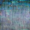 SIGNATURE /Celeste Spectra (Amethysts Reflections) 2 (2021) / 48 x 60 in / Artist: Nestor Toro