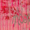 Signature / Iridescent Drizzles (Rain in pink) (2021) / Artist - Nestor Toro