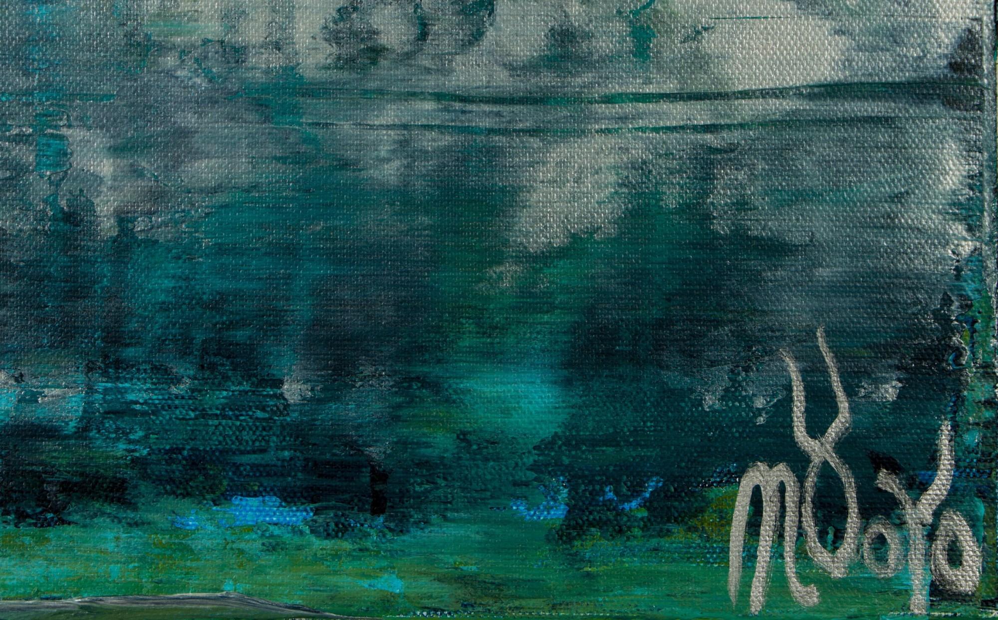 Signature / Waterflow (Night Clouds) / (2021) / Artist - Nestor Toro