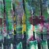 Iridescent Green Forest 1 / Detail / (2021) by Nestor Toro