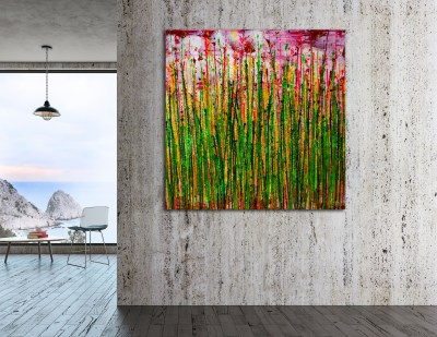 Daydream Panorama (Natures Imagery) 35 (2021) / Room example / Artist: Nestor Toro
