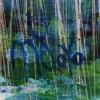Green Forest (Silver Lights Intrusions) 2 (2021) / Signature / Artist: Nestor Toro