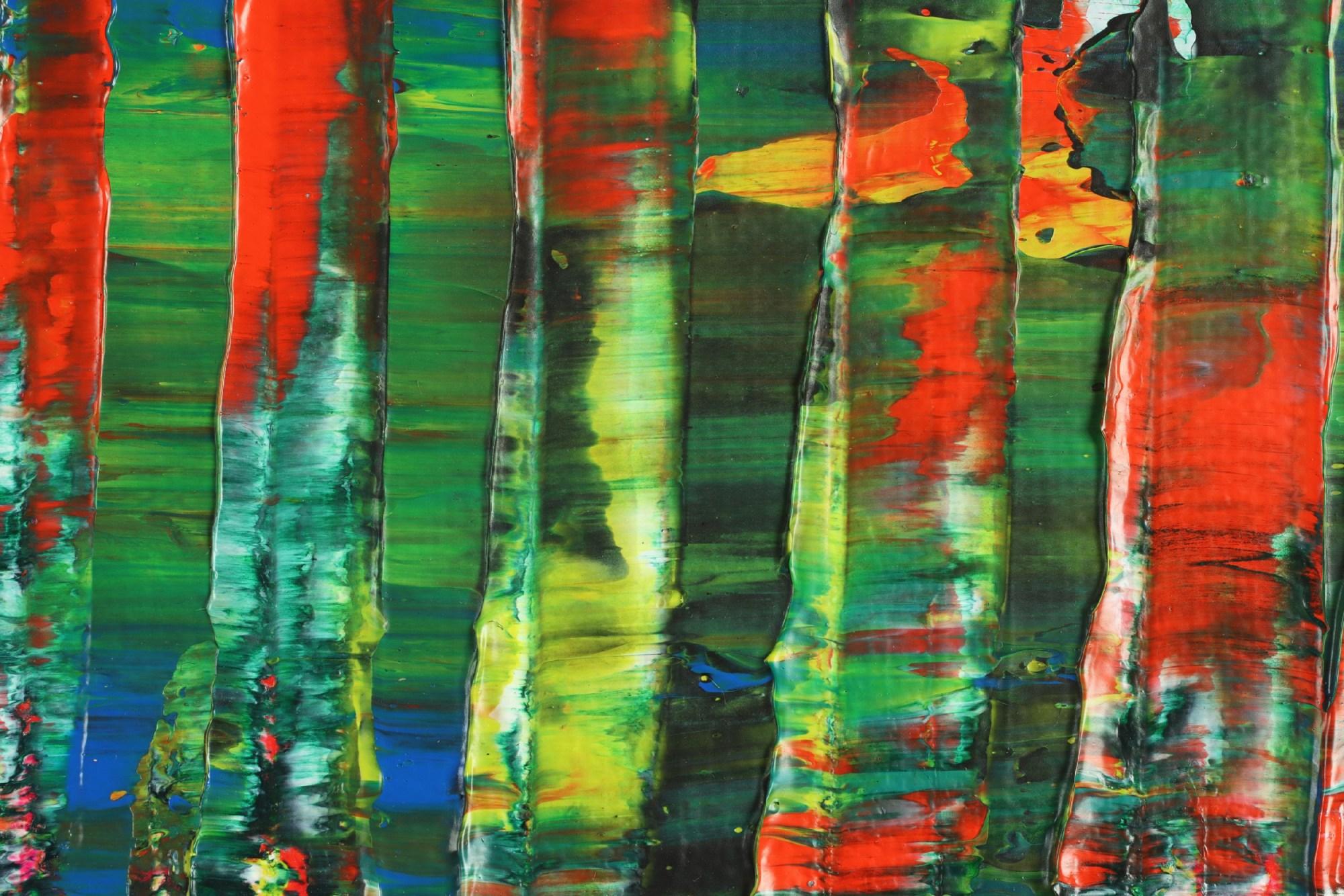 A Color Equation 2 (2021) / Detail / 18x24 / Artist: Nestor Toro