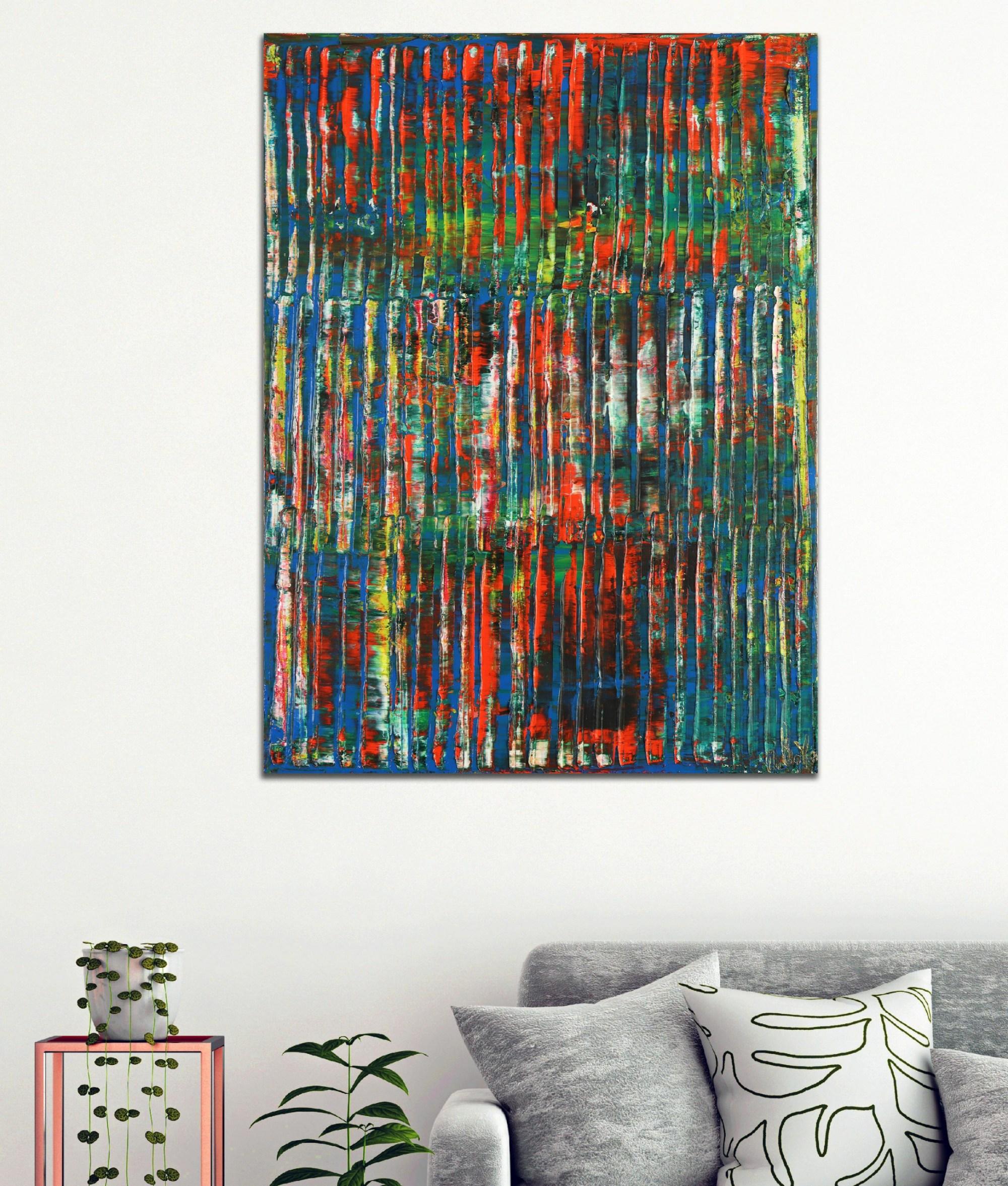 A Color Equation 2 (2021) 18x24 / Artist: Nestor Toro