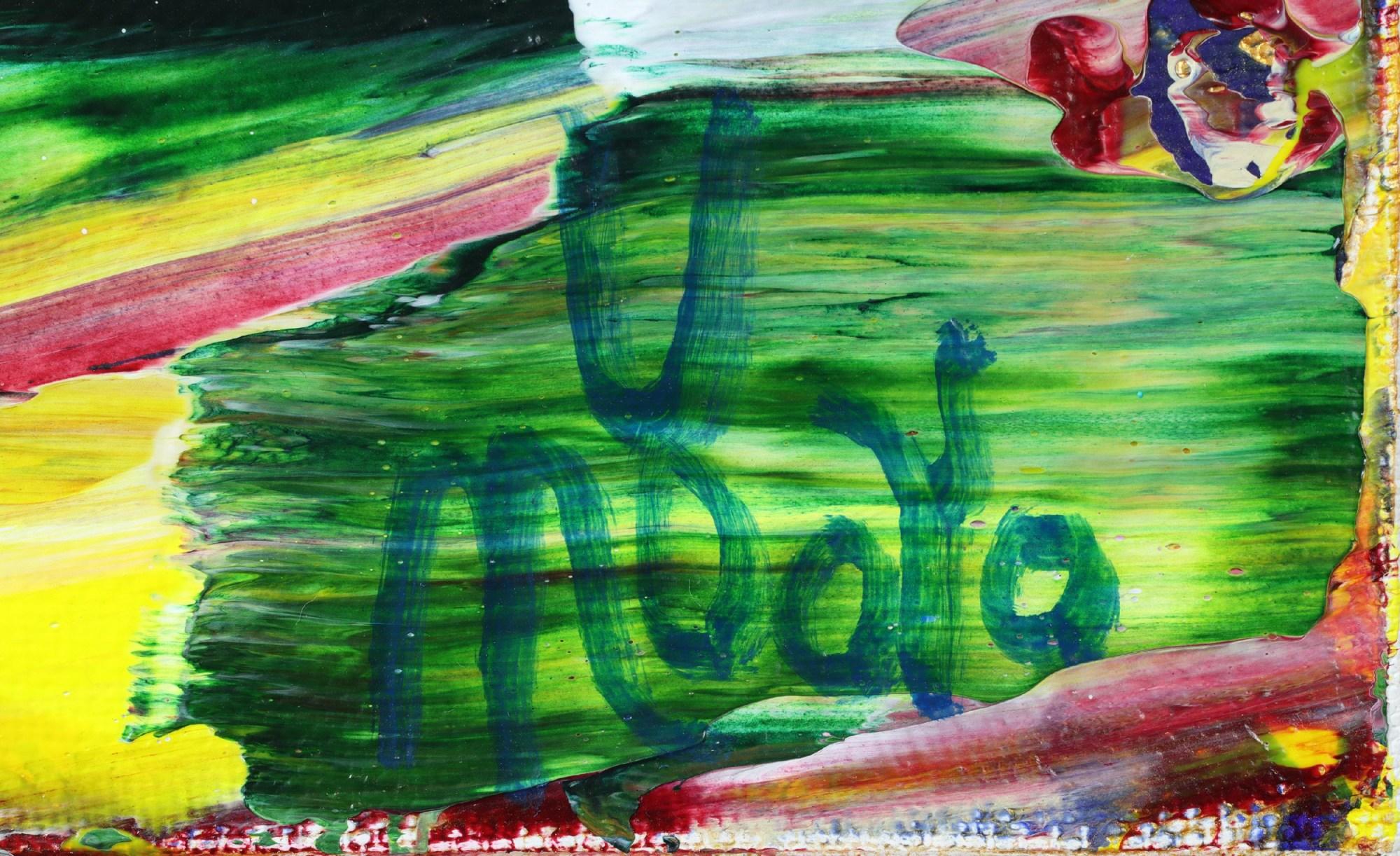Signature / Moss and Rust 2 (2021) 20x24 in / Artist: Nestor Toro