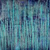 Nighttime Fearlessness 7 (2021) / Diptych / Canvas 2 / Artist: Nestor Toro