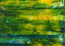 SOLD / Caribbean Dawn Panorama (2021) 20x24 / Artist: Nestor Toro