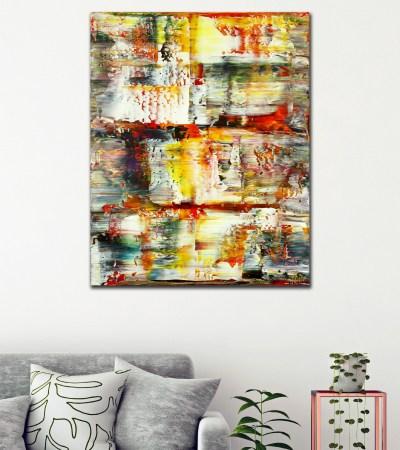 SOLD - Summer Harvest Panorama (2021) / Room view / Artist: Nestor Toro