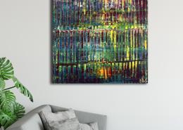 SOLD - A Matter of Nature (2021) / Room example / Artist: Nestor Toro