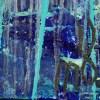 Nighttime Fearlessness 6 (2021) / 24X30 / Artist: Nestor Toro