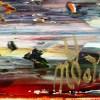 SOLD - Signature / Summer Harvest Panorama (2021) / 24x30 / Artist: Nestor Toro