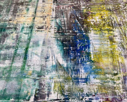 Gerhard Richter: Cage Paintings Exhibition / Gagosian Gallery - Beverly Hills Dec 2020