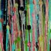 Drizzles Symphony 4 (2021) TRIPTYCH / Detail / Artist: Nestor Toro